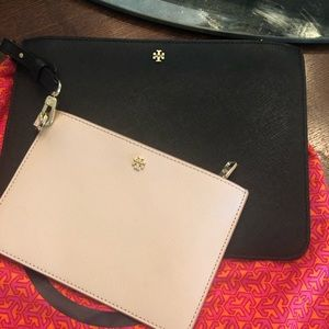Tory Burch York Saffiano Leather clutches